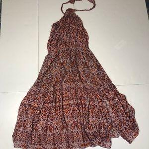 Misa Los Angeles Aztec Midi Dress